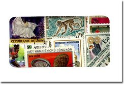 FRENCH COLONIES -  100 ASSORTED STAMPS - FRENCH COLONIES