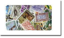 FRENCH COLONIES -  300 ASSORTED STAMPS - FRENCH COLONIES