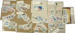 FRENCH SOUTHERN AND ANTARCTIC LANDS -  1987 TO 1999 COMPLETE YEARS SET, NEW STAMPS