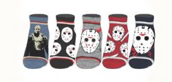FRIDAY 13TH -  5 PAIR OF ANKLE SOCKS