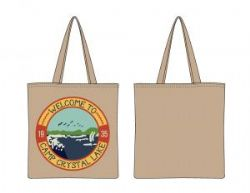 FRIDAY THE 13TH -  CAMP CRYSTAL LAKE CANVAS TOTE