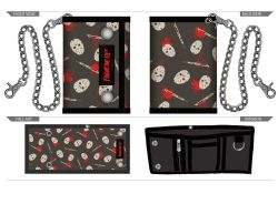 FRIDAY THE 13TH -  JASON CHAIN WALLET