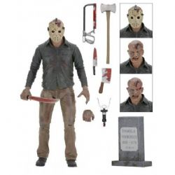 FRIDAY THE 13TH -  JASON VOORHEES ACTION FIGURE WITH ACCESSORIES (7