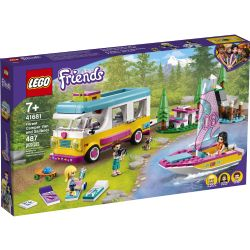 FRIENDS -  FOREST CAMPER VAN AND SAILBOAT (487 PIECES) 41681