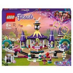 FRIENDS -  MAGICAL FUNFAIR ROLLER COASTER (974 PIECES) 41685