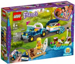 FRIENDS -  STEPHANIE'S BUGGY AND TRAILER (116 PIECES) 41364