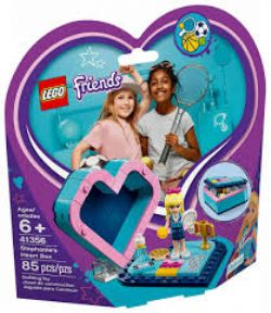 FRIENDS -  STEPHANIE'S HEART BOX (85 PIECES) 41356