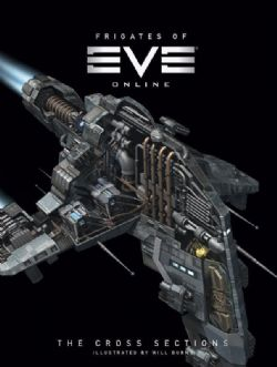 FRIGATES OF EVE ONLINE CROSS SECTIONS -  THE ART OF EVE ONLINE