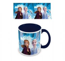 FROZEN 2 -  ELSA AND ANNA CERAMIC MUG INSIDE COLOUR (11 OZ) -  DISNEY'S PRINCESSES
