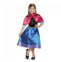 FROZEN -  ANNA COSTUME - TRAVELING (CHILD) -  DISNEY'S PRINCESSES