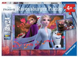 FROZEN -  FROSTY ADVENTURES (2 X 24 PIECES) - 4+ -  DISNEY'S PRINCESSES