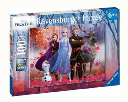 FROZEN II -  MAGIC OF THE FOREST (100 PIECES) - 6+ -  DISNEY'S PRINCESSES