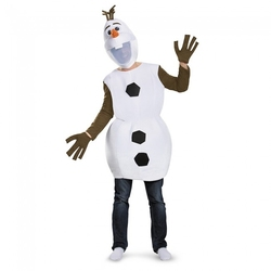 FROZEN -  OLAF DELUXE COSTUME (ADULT) -  DISNEY'S PRINCESSES
