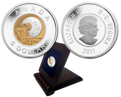 FULL MOONS -  FULL HUNTER'S MOON -  2011 CANADIAN COINS 02