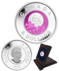 FULL MOONS -  FULL PINK MOON -  2012 CANADIAN COINS 04