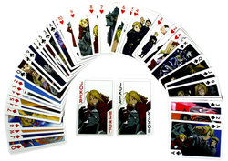 FULLMETAL ALCHEMIST -  PLAYING CARDS