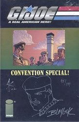 G.I. JOE CONVENTION SPECIAL -  SIGNED COMIC BY JOSHUA BLAYLOCK & STEVE KURTH