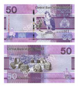 GAMBIA -  50 DALASIS 2019 (UNC)