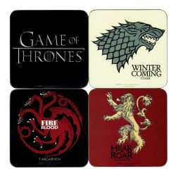 GAME OF THRONES, A -  4 COASTER SET