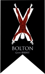 GAME OF THRONES, A -  BOLTON BANNER