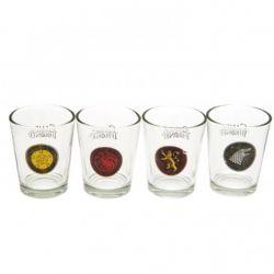 GAME OF THRONES, A -  FOUR SHOT GLASS SET