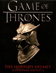 GAME OF THRONES, A -  HOUND'S HELMET STATUE (3