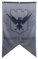 GAME OF THRONES, A -  NIGHT'S WATCH BANNER