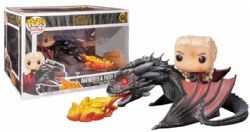 GAME OF THRONES, A -  POP! VINYL FIGURE OF DAENERYS & DROGON (8 INCH) 68