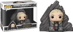 GAME OF THRONES, A -  POP! VINYL FIGURE OF DAENERYS TARGARYEN ON DRAGONSTONE THRONE (6 INCH) 63