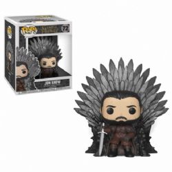 GAME OF THRONES, A -  POP! VINYL FIGURE OF JON SNOW ON IRON TRONE (6 INCH) 72