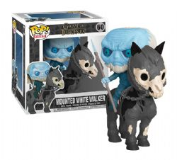 GAME OF THRONES, A -  POP! VINYL FIGURE OF MOUNTED WHITE WALKER (8 INCH) 60