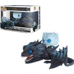 GAME OF THRONES, A -  POP! VINYL FIGURE OF NIGHT KING & ICY VISERION (8 INCH) 58