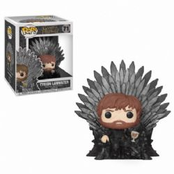 GAME OF THRONES, A -  POP! VINYL FIGURE OF TYRION LANNISTER ON IRON TRONE (6 INCH) 71