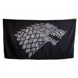 GAME OF THRONES, A -  STARK GIANT BANNER (62