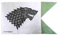 GAME OF THRONES, A -  STARK OUTDOOR FLAG