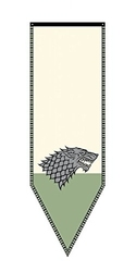GAME OF THRONES, A -  STARK TOURNAMENT BANNER