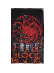 GAME OF THRONES, A -  TARGARYEN FIRE AND BLOOD BANNER