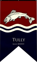 GAME OF THRONES, A -  TULLY BANNER