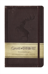 GAME OF THRONES -  HOUSE BARATHEON - HARDCOVER RULED JOURNAL (192 PAGES)