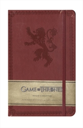 GAME OF THRONES -  HOUSE LANNISTER - HARDCOVER RULED JOURNAL (192 PAGES)