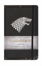 GAME OF THRONES -  HOUSE STARK - HARDCOVER RULED JOURNAL (192 PAGES)