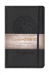 GAME OF THRONES -  HOUSE TARGARYEN - HARDCOVER RULED JOURNAL (192 PAGES)