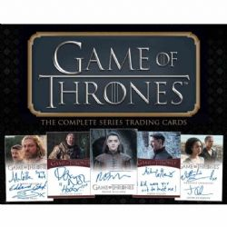 GAME OF THRONES -  THE COMPLETE SERIES - TRADING CARDS