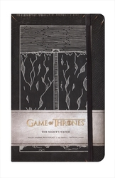 GAME OF THRONES -  THE NIGHT'S WATCH - HARDCOVER RULED JOURNAL (192 PAGES)