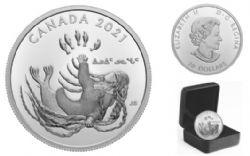 GENERATIONS -  INUIT NUNANGAT -  2021 CANADIAN COINS 01