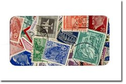 GERMANY -  100 ASSORTED STAMPS - GERMANY