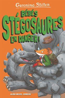 GERONIMO STILTON -  BÉBÉS STEGOSAURES EN DANGER! -  SUR L'ÎLE DES DERNIERS DINOSAURES 06