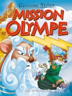 GERONIMO STILTON -  MISSION OLYMPE -  LE VOYAGE DANS LE TEMPS