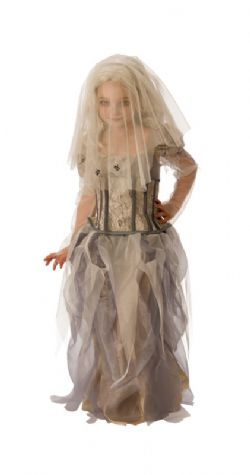 GHOST -  GHOST BRIDE COSTUME (CHILD)