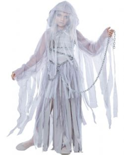 GHOST -  HAUNTED BEAUTY COSTUME (CHILD)